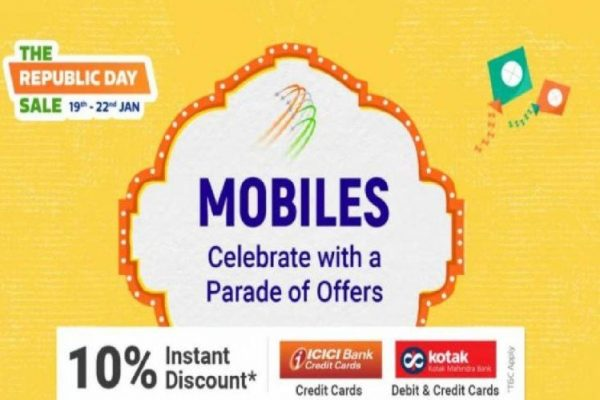 Bumper sale on Flipkart and Amazon on Republic Day special occasion